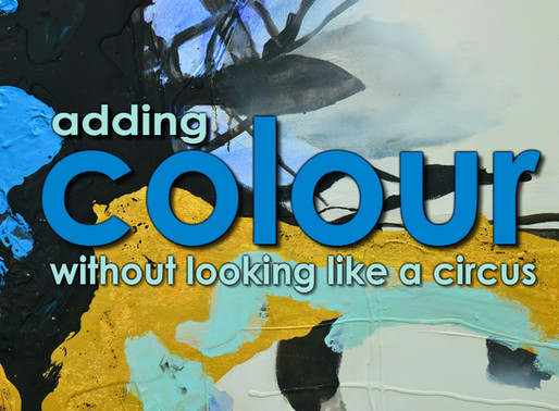 How to Add Colour Without Looking Like A Circus