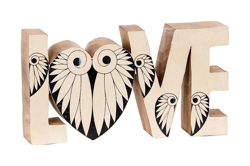 Love - Wooden Figure