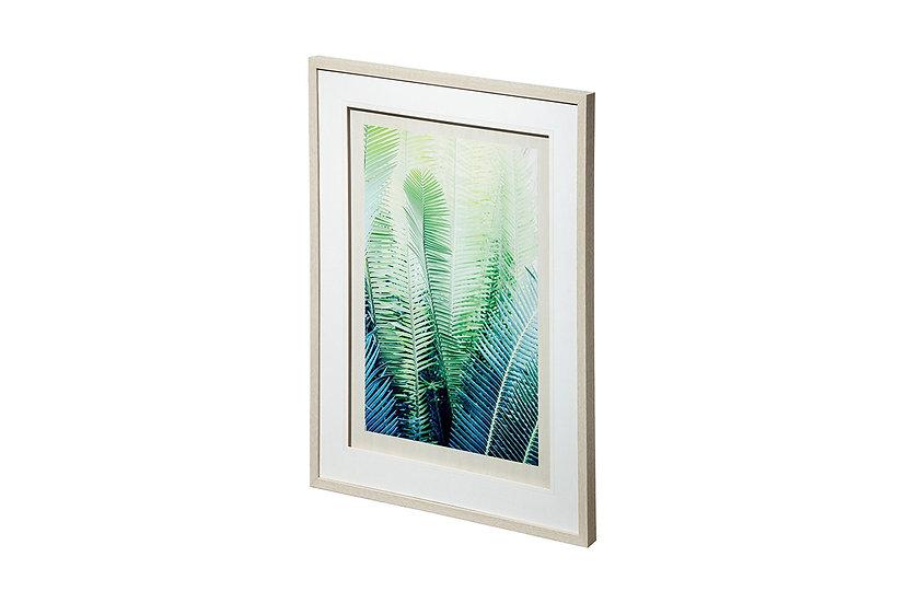 Tropical Plaza - Framed Print