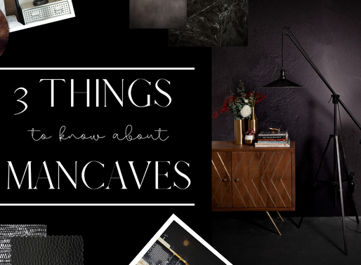 3 Things to Know About Mancaves