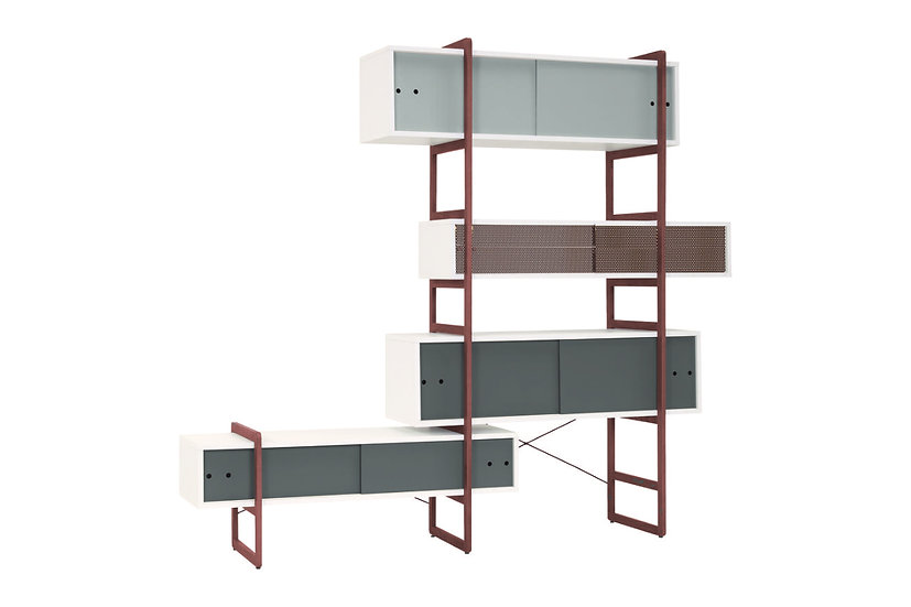 Mio - Bookcase with Extension