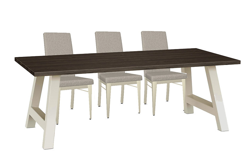 Bennett - Dining Table and 6 Merlot Chairs