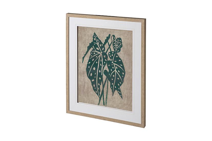 Vintage Greenery II - Framed Print