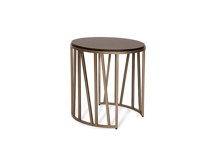 Alina - Oval End Table