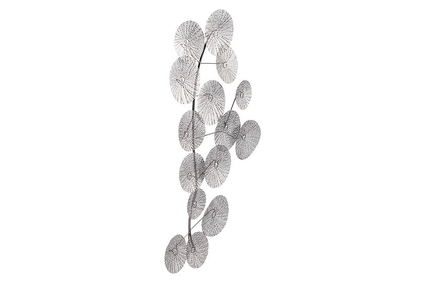 Multi Petals - Silver Wall Decor