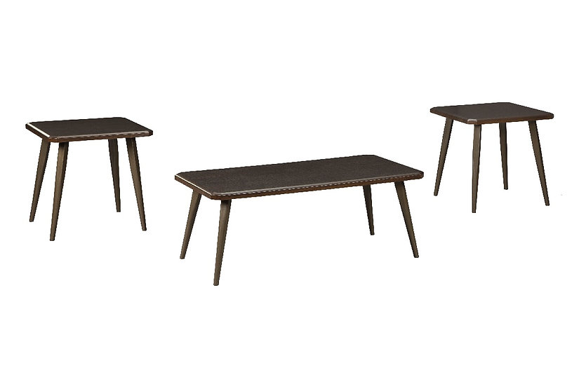 Fazani - Cocktail Table with 2 End Tables