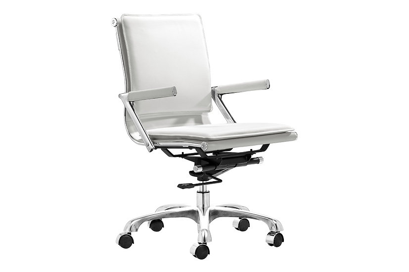 Lider Plus - Office Chair in White