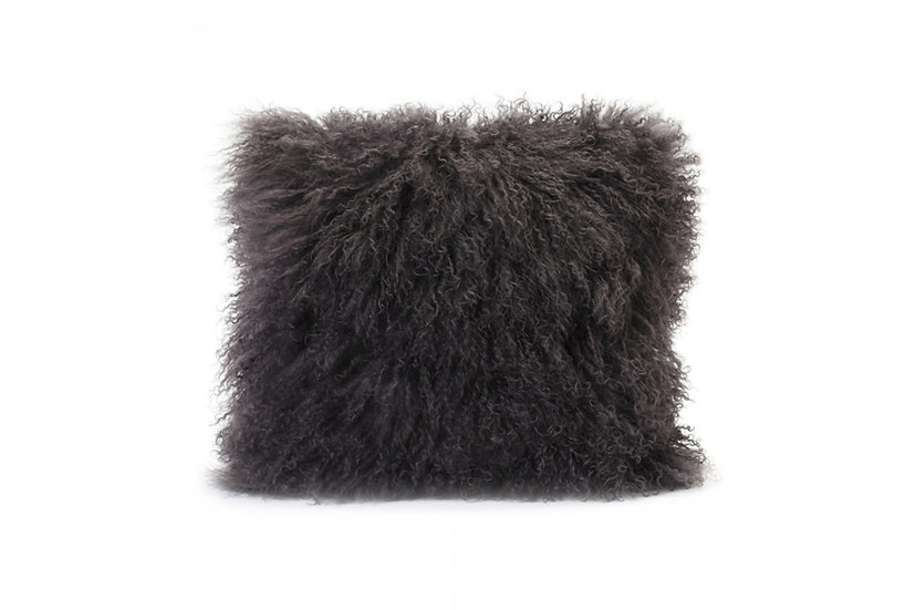 Lamb Fur - Pillow (Grey)