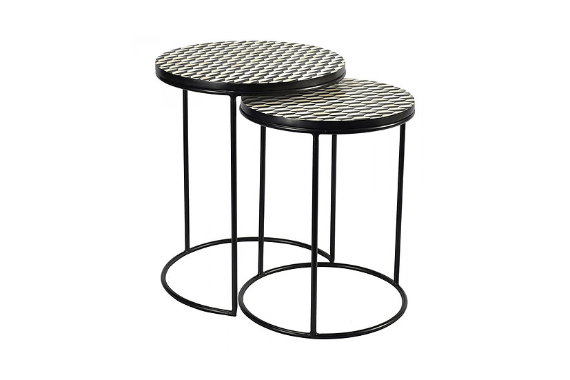 Optic - Nesting Tables