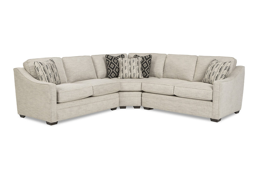 F9 - 3 Piece Sectional with Wedge