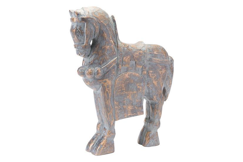 Large Solar Horse Figure