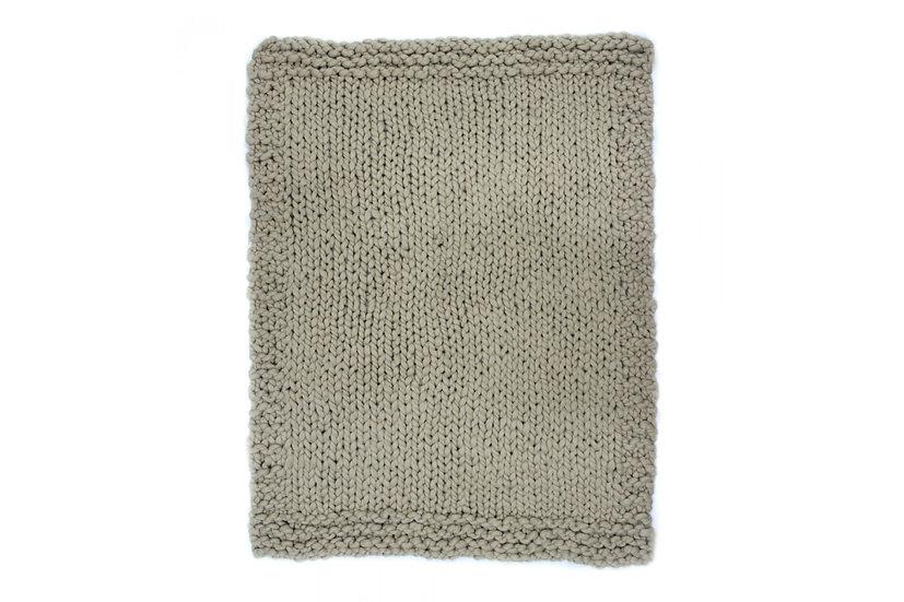Abuela - Sand Wool Throw