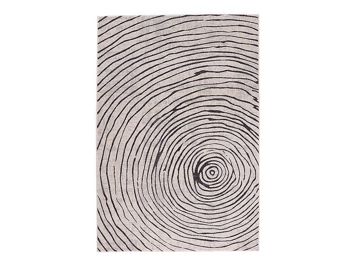 Indigo - Ripple Rug (Charcoal)