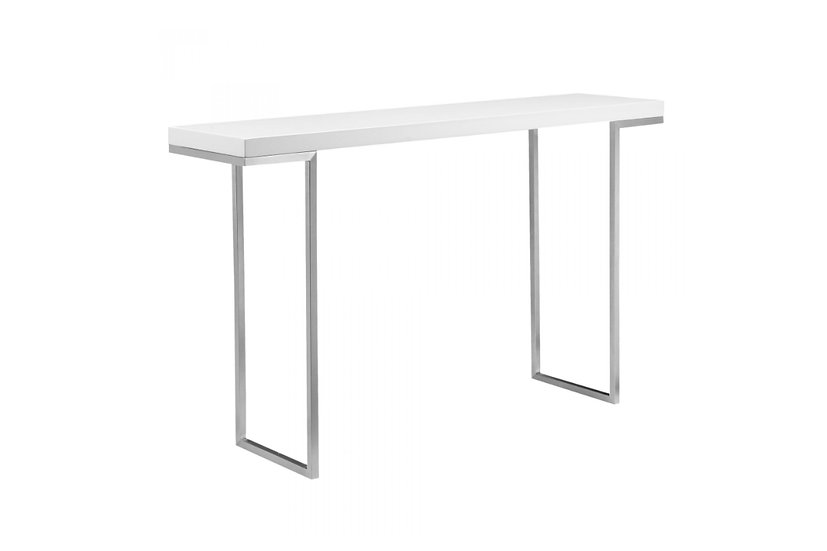 Repetir - White Lacquer Console Table