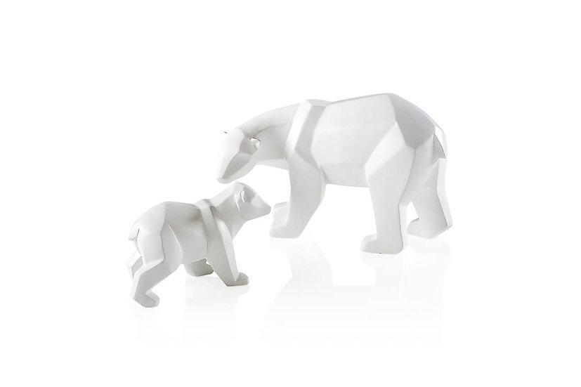 Carved Polar Bears