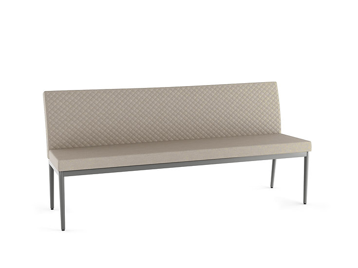 Monroe - Long Quilted Bench