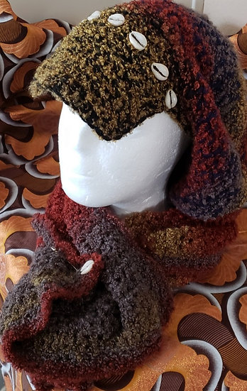 FallColors Bucket Hat and Scarf