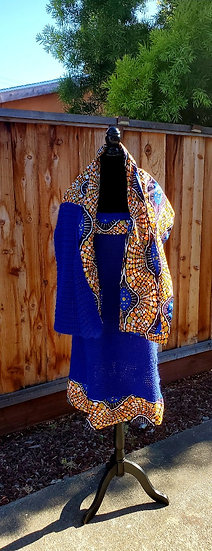Crocheted Dress and Shawl