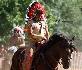 GRCF Les Animaux des R, Guillaume Roche, Spectacle amérindien, spectacle cowboys, spectacle indiens