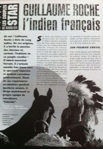GRCF Les Animaux des R, Guillaume Roche, Interview, La presse en parle, l'indien français