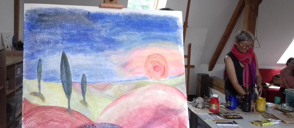 """""""In deine Seele geträumt"""" mit Mag.art Margit Wimmer"""