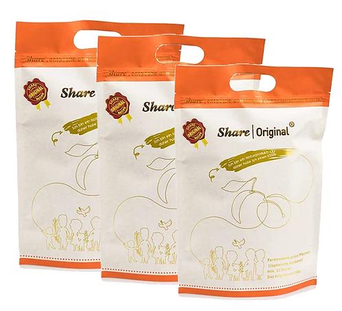 SHARE Original® grüne Pflaume (3x 33 Stück)