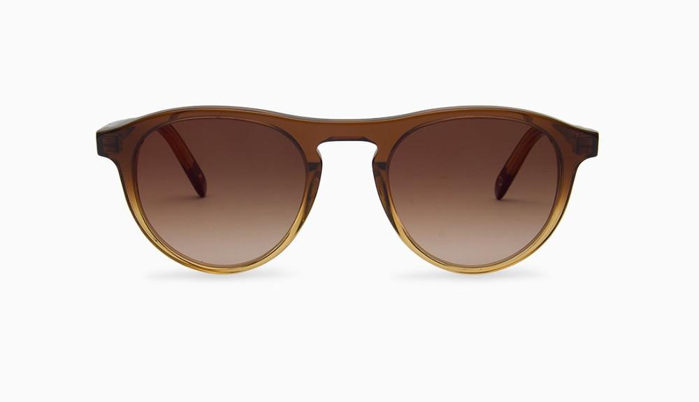 lunettes de soleil pilote dégradé à Orléans chez BESICLES opticien créateur de visages heureux
