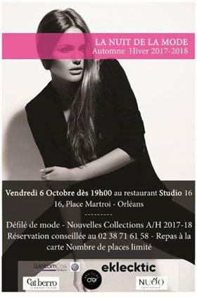 Défilé de mode à Orléans avec BESICLES opticien