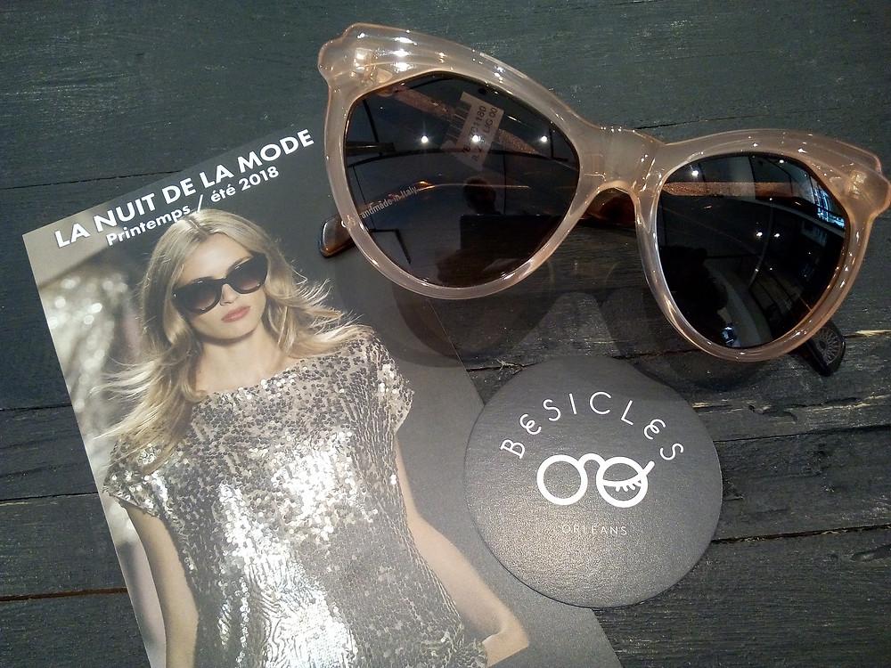 défilé de mode à Orléans avec Besicles opticien créateur de visages heureux