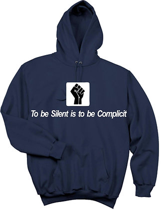 To be silent Hoodie- More Colors