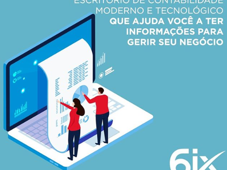 Escritório Contábil Moderno e Tecnológico