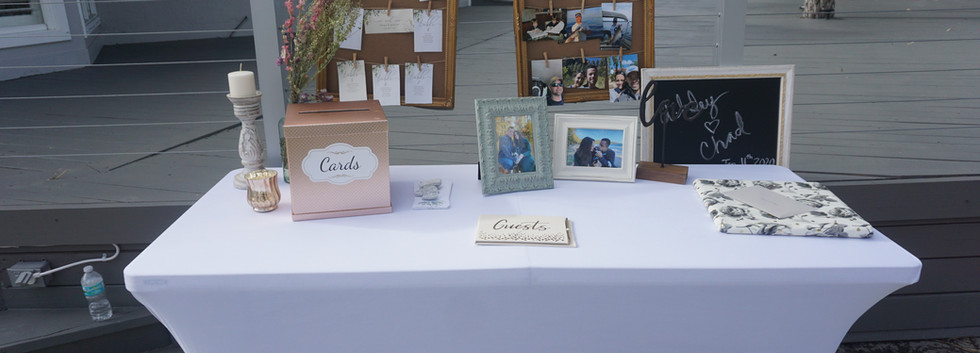 Greeting Table
