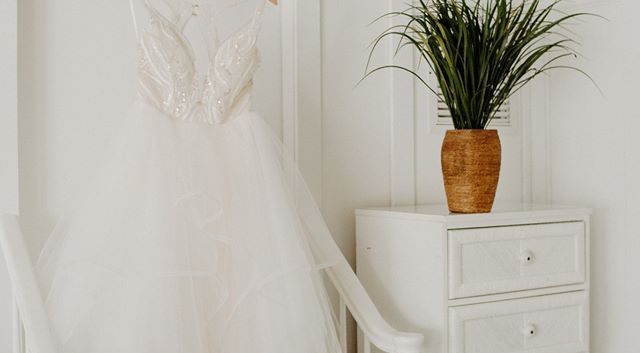 Dress in Bridal Suite