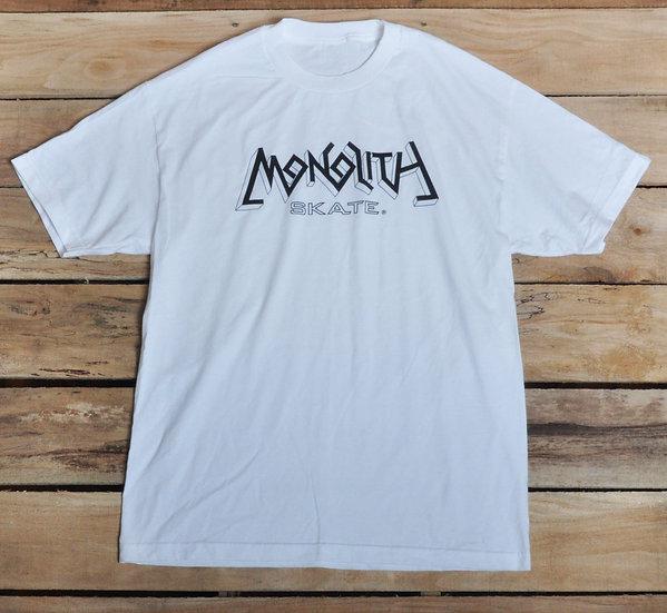 Monolith Logo T - White