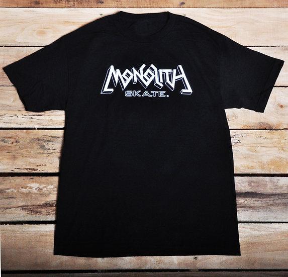 Monolith Logo T - Black