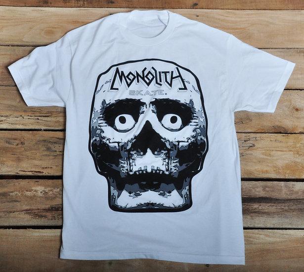 """Monolith """"Skull Slap"""" T - White"""