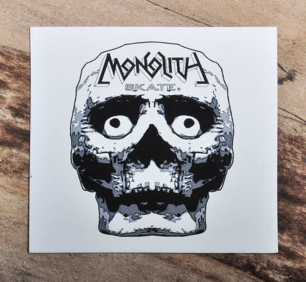 Skull Slap Sticker