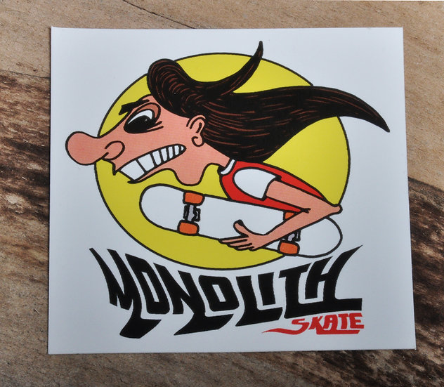 """""""Monty"""" Sticker"""