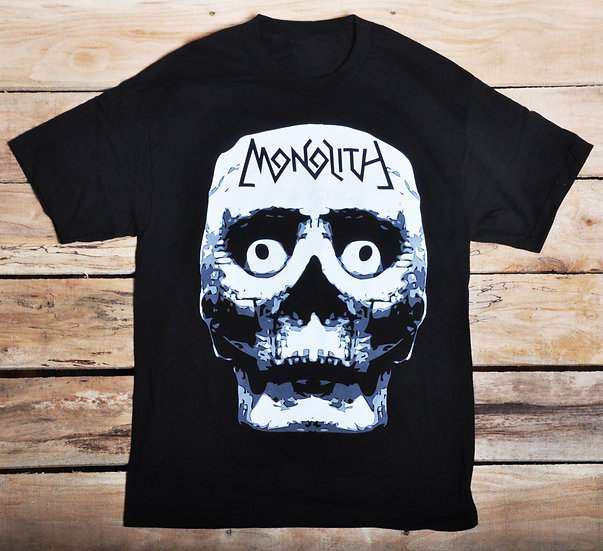 """Monolith """"Skull Slap"""" T - Black"""