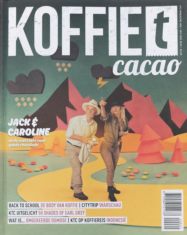 Koffie T Cacao Magazine