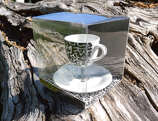 Espresso cup & saucer from The Arise series Limited Edition