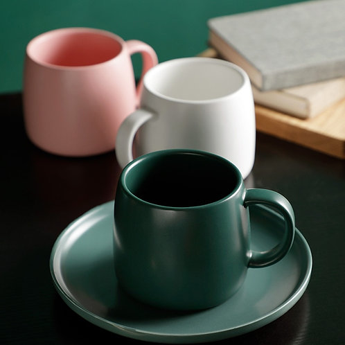 Ceramic Matte Coffee Mug 450ml