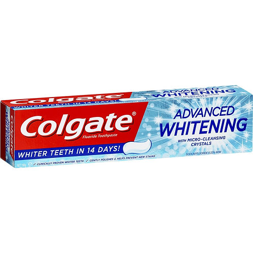 Colgate dentrificio 100ml whitening