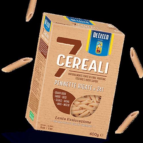 Pennette rigate 7 cereali De Cecco 400gr