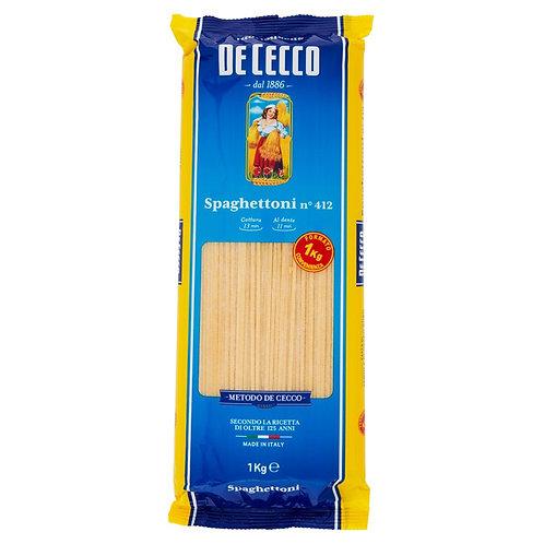 Pasta Spaghetti De Cecco 1 kg+1 spaghetti 500gt