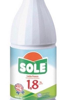 Latte fresco parzialmente scremato Sole 1 lt