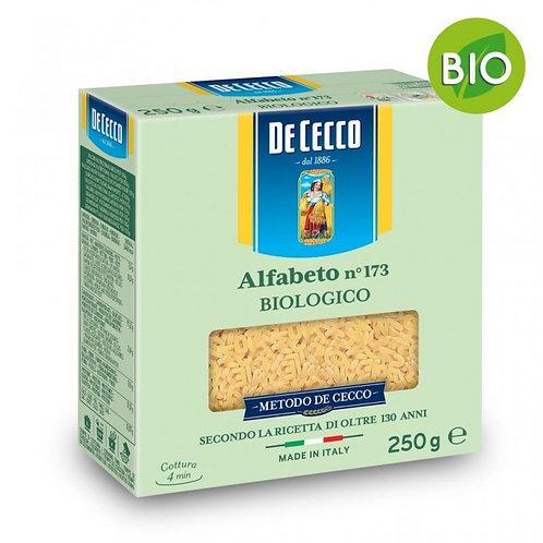 Pastina alfabeto Bio De Cecco 250gr