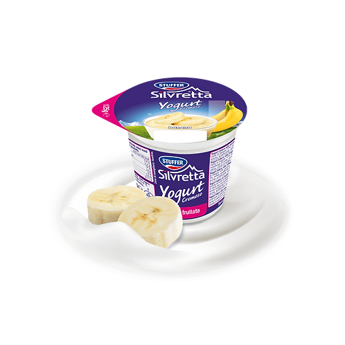 Yogurt banana 125gr