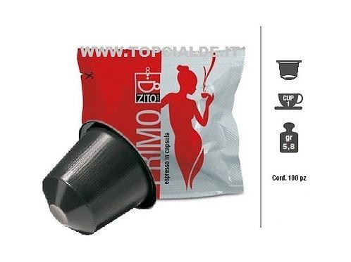 Capsula Zito per Nespresso x100