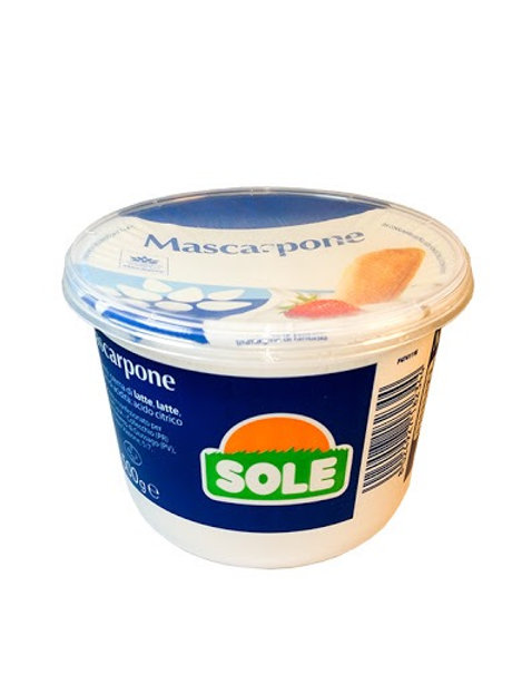Mascarpone Sole 500gr